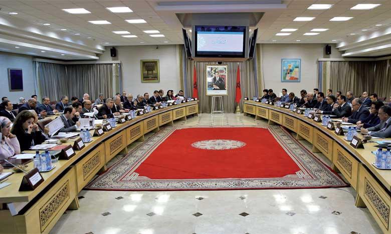 Réunion élargie au ministère de l'Intérieur pour le suivi de l'état d'avancement des projets de développement programmés à Tétouan