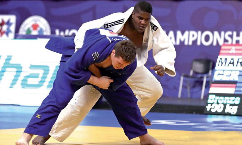 Les couleurs nationales défendues  par 39 judokas