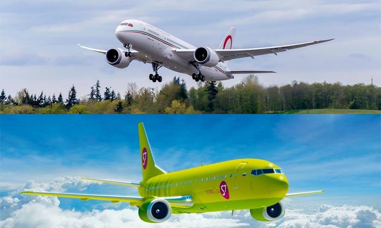 Le partenariat entre les deux compagnies permettra à la RAM d'augmenter ses vols en direction de l'Afrique et les destinations américaines via la Russie. Ph : DR