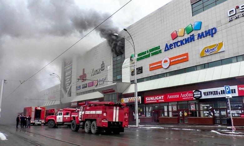 Incendie dans un centre commercial en Sibérie : le bilan grimpe à 53 morts