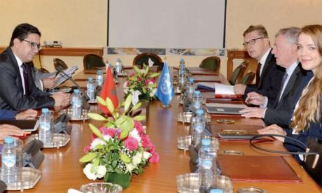 Le Maroc entame ce mardi des discussions bilatérales avec Horst Kohler, Envoyé personnel du Secrétaire général des Nations unies, dans le respect des principes et des fondamentaux de la position nationale