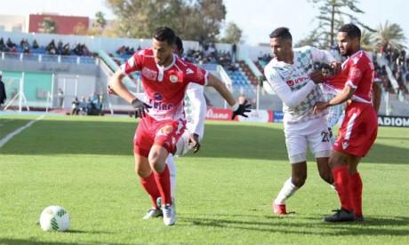 Le Wydad enchaîne un 4e succès de rang à El Jadida, l'OCK prive le HUSA du leadership