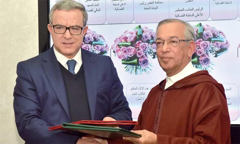 L'instance conjointe chargée de la coordination entre  le Conseil supérieur du pouvoir judiciaire et le ministère  de la Justice opérationnelle