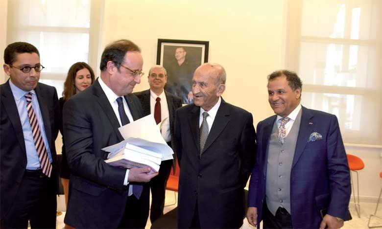 François Hollande rencontre des directeurs de médias nationaux
