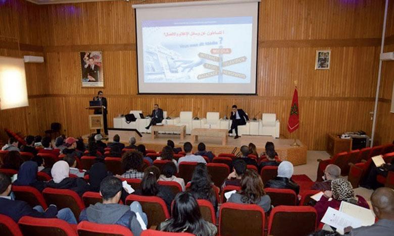 «La régulation des médias et les enjeux communicationnels», thème d'une rencontre à la Faculté des lettres de Rabat