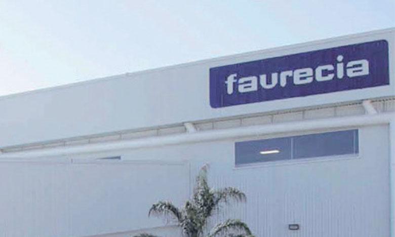 Faurecia est présent au Maroc depuis 2009 avec deux unités de production à Kénitra et Salé.