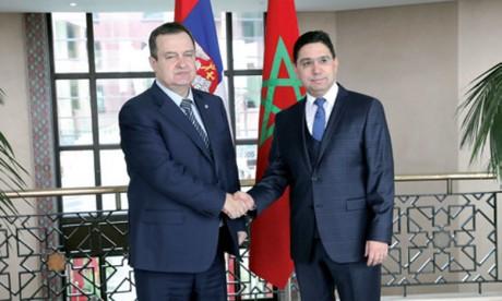La Serbie et le Maroc partagent la même position de principe quant au respect de l'intégrité territoriale de chaque pays