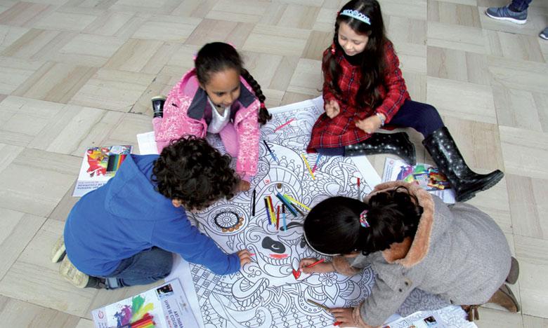 Beaucoup d'enfants de groupes scolaires ont assisté aux séances accompagnés de leur staff d'encadrement.