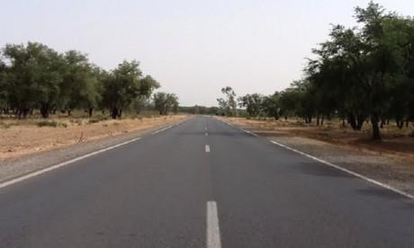 Pas de dégât au niveau de la route nationale n°6 Salé-Sidi Allal Al Bahraoui