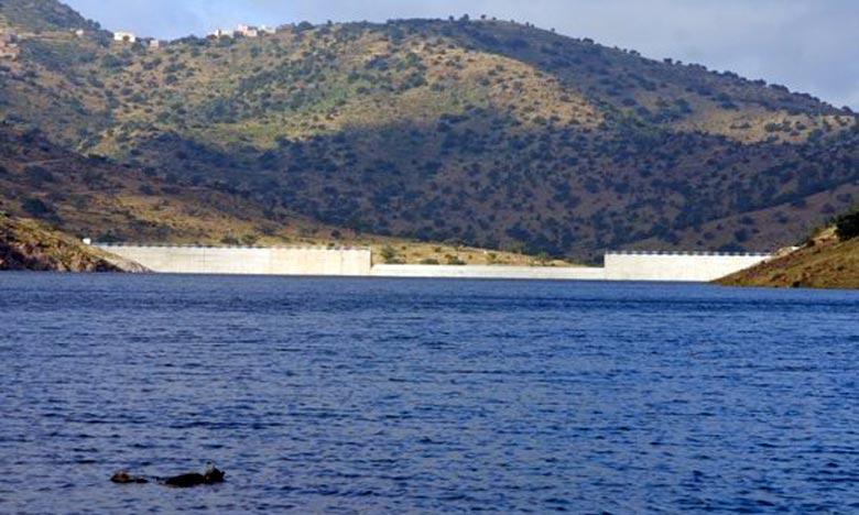 Le taux de remplissage des barrages atteint 49,9%