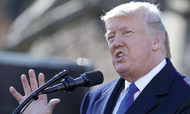 Donald Trump : «Avec un déficit commercial de 800 milliards de dollars, nous n'avons pas le choix».