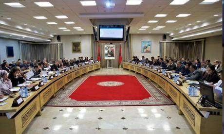 Réunion pour le suivi des projets de développement programmés à Tétouan