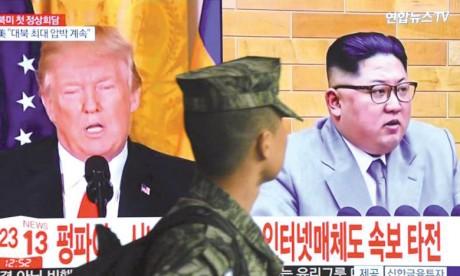 Donald Trump accepte un sommet  historique avec le Président Kim Jong-un
