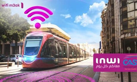Inwi offre son Wifi gratuitement dans le Tram de Casablanca