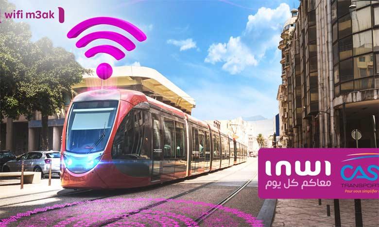 Les 125.000 passagers quotidiens de Casa Tramway ont droit à 200Mo/jour de connexion haut débit.