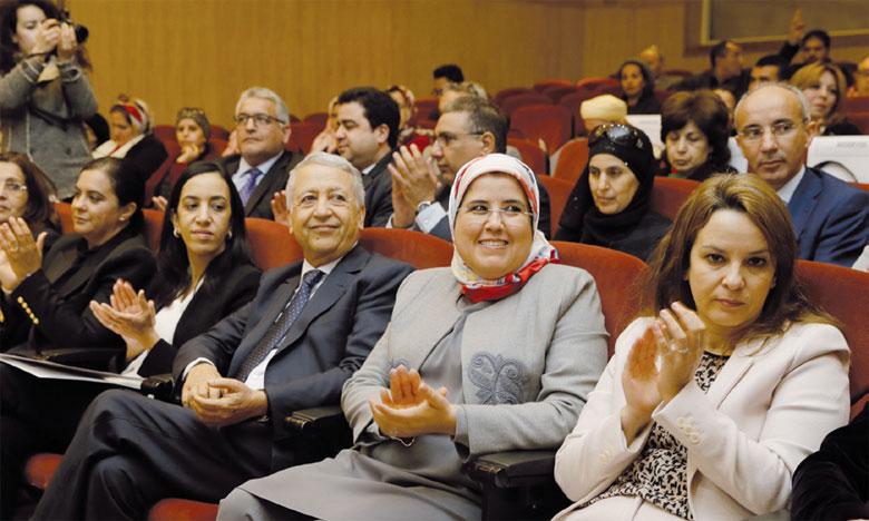Un vibrant hommage a été rendu aux efforts des femmes oeuvrant au sein  des coopératives.