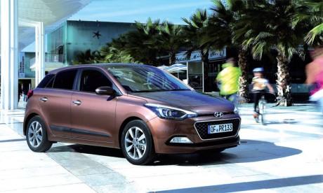 Le design de la nouvelle i20 est inspiré du nouveau langage stylistique de Hyundai Motors, Fluidic Sculpture 2.0.