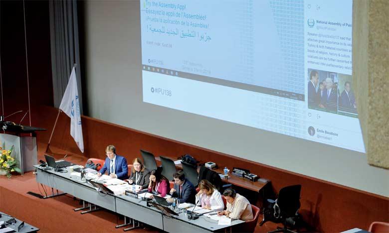 Une délégation parlementaire marocaine participe à la 138e assemblée à Genève