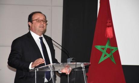 François Hollande : «Je suis venu aborder la réponse de la Culture aux défis et enjeux que nous rencontrons»