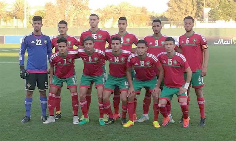 La sélection U19 bat les EAU