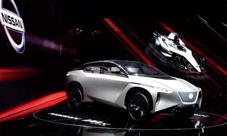 Imaginé par l'équipe de Nissan Global Design au Japon, le nouveau modèle affiche un  aérodynamisme spectaculaire.