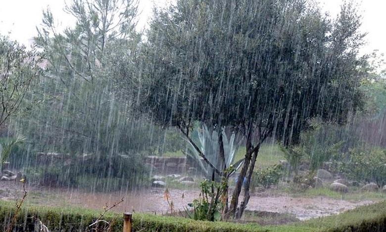 Averses orageuses et fortes rafales de vent prévues ce week-end