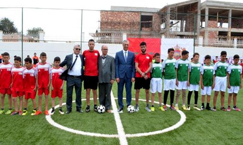 La Ligue «Manarat Al-Moutawassit», vise à découvrir les talents sportifs dans la perspective de les intégrer dans le système sportif aux niveaux local, régional et national. Ph : MAP