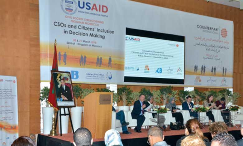 La participation citoyenne tributaire du renfoncement des capacités de la société civile