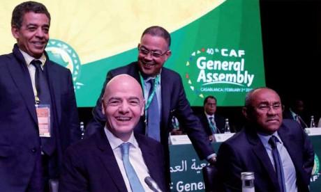 La parade de la CAF pour éviter une éventuelle injustice de la task force