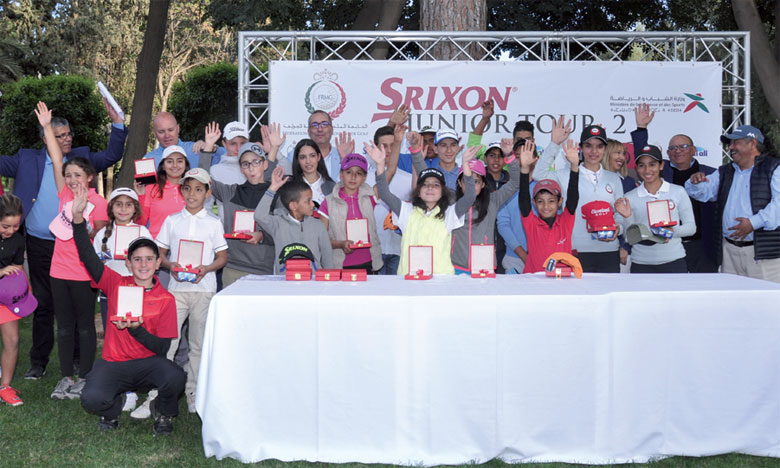 Le Srixon Junior Tour II rend son verdict à Marrakech