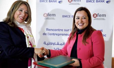 BMCE Bank s'engage  à accompagner l'AFEM