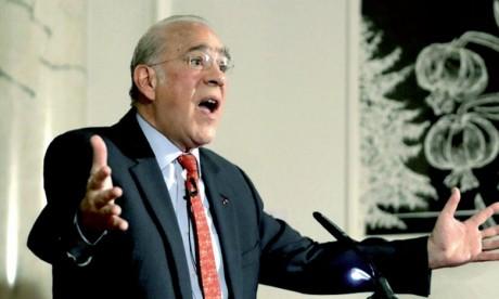 Le secrétaire général de l'OCDE, Angel Gurria.