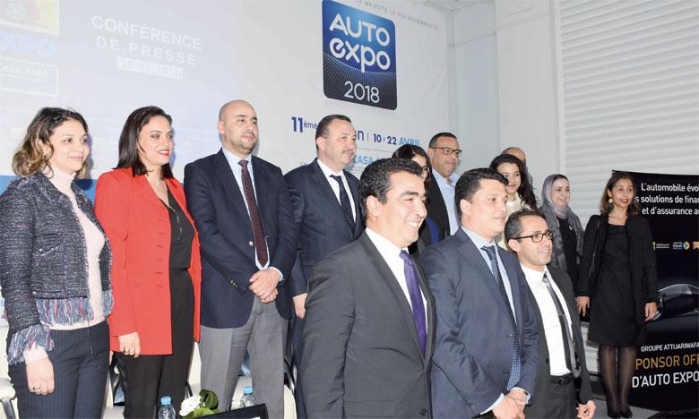 Les membres de l'Aivam en charge de l'organisation de l'Auto Expo sont convaincus de la réussite de cette onzième édition.Ph. Seddik