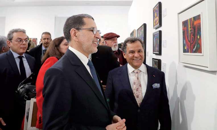 L'oeuvre de feu Ahmed Cherkaoui, figure incontournable de l'abstraction marocaine