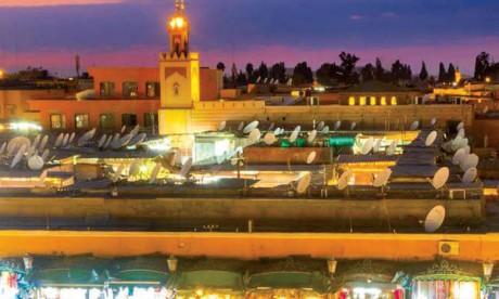 4.000 points lumineux installés dans la médina de Marrakech