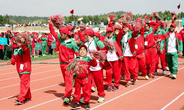 Special Olympics Maroc rafle 37 médailles à Abou Dhabi