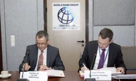 L'accord AWB-SFI a été signé lundi à Abidjan.