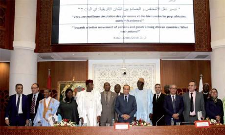 Les Parlements de la Cédéao et du Maroc expriment leur détermination à accompagner l'évolution d'un espace africain prospère et ouvert à tous les Africains