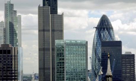 Le secteur financier britannique serait le plus affecté, selon l'étude.