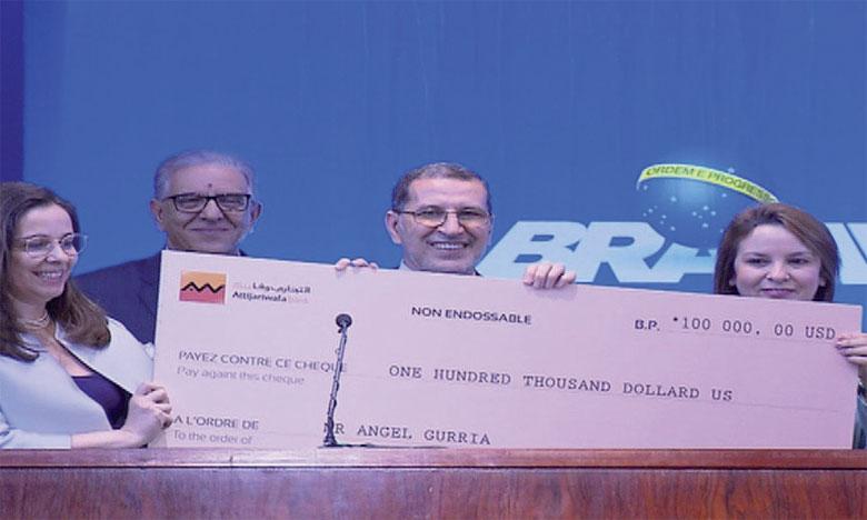 Le sixième Grand Prix mondial Hassan II pour l'eau remis à l'OCDE