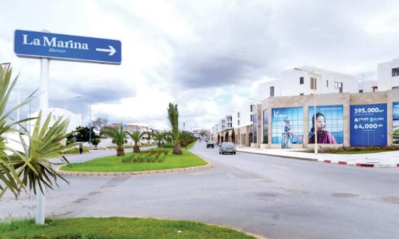 La Marina Morocco comprend un programme immobilier diversifié qui s'étend sur 395.000m².