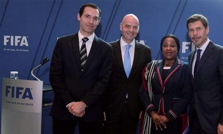 Les inspecteurs de la FIFA au Maroc du 16 au 19 avril
