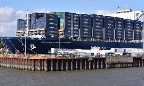 CMA CGM fait la promo de sa solution Reeflex au Salon
