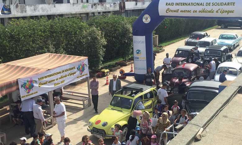 Une parade de voitures classiques  au profit des démunis