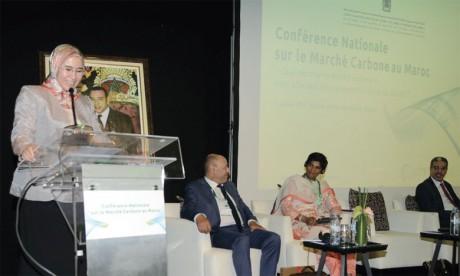 La secrétaire d'État chargée du Développement durable, Nezha El Ouafi.                                                                                 Ph. DR