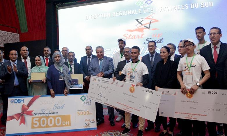 «La caravane régionale de l'Entrepreneuriat - Start-Up Sud», offre une occasion particulière facilitant l'accès des jeunes porteurs de projets au marché de travail. Ph : MAP