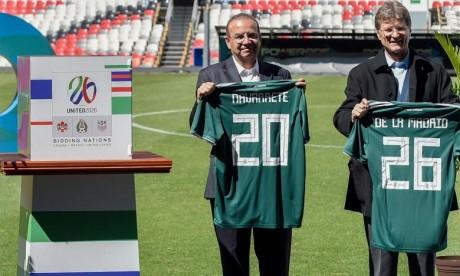 Première visite d'inspection de la FIFA à Mexico