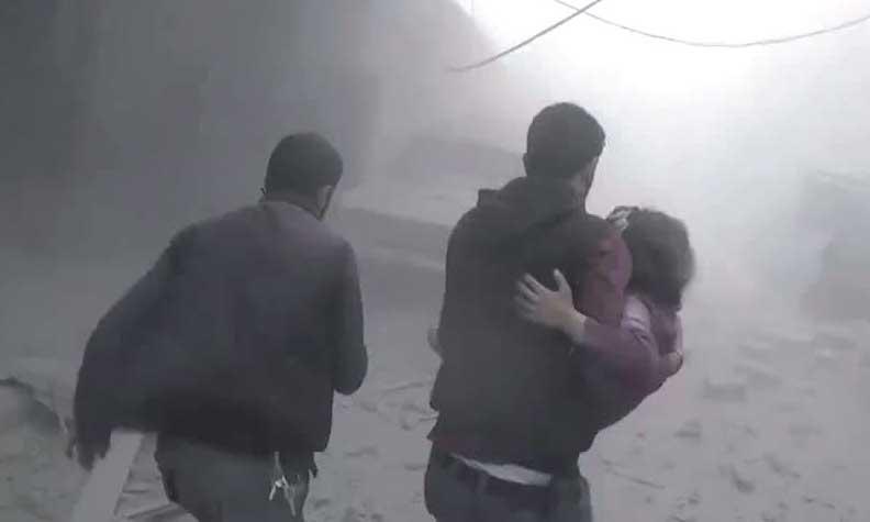 Israël accusé d'une frappe, pressions accrues après une attaque chimique