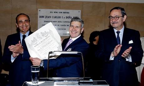 Mohamed Achergui décoré par le Roi Felipe VI