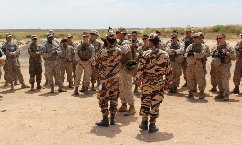 L'exercice combiné maroco-américain «African Lion 2018», jusqu'au 29 avril 2018 dans la région d'Agadir, Tifnit, Tan-Tan, Tiznit, Ben Guérir et Kénitra